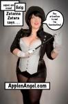 ApplenAngel Apple Angel Cosplay boobs Zatana Zatarra