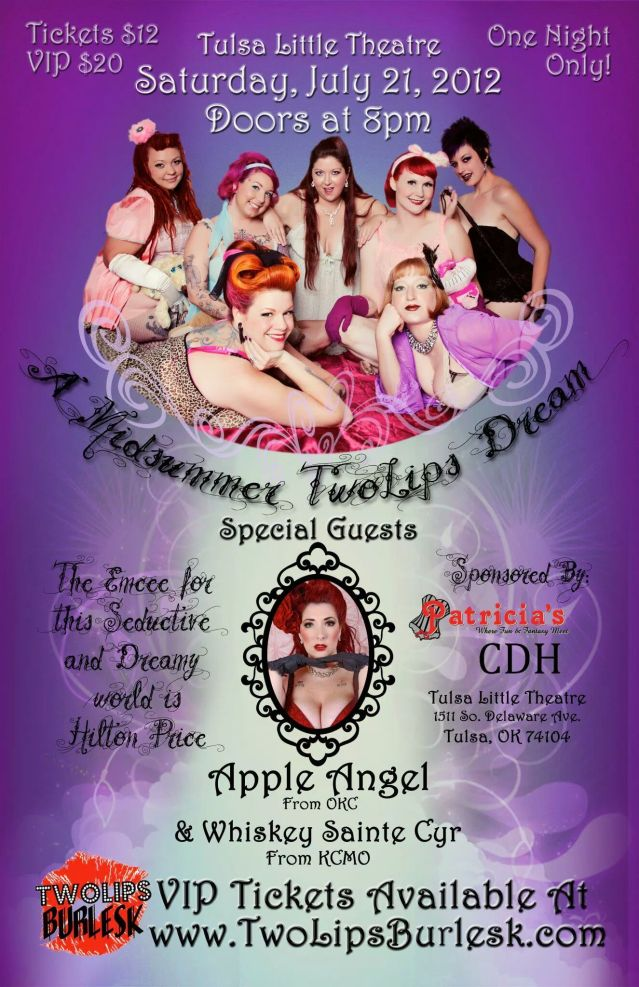 ApplenAngel Apple Angel Burlesque Two Lips Burlesk