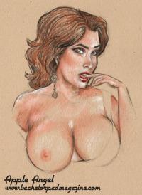 Apple Angel Applenangel boobs Oklahoma burlesque Bachelor Pad Becca Whiitaker Beccas Bombshells