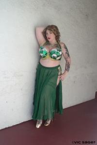 Silhouette House Lotus Costume by Jezabelle Von Jane