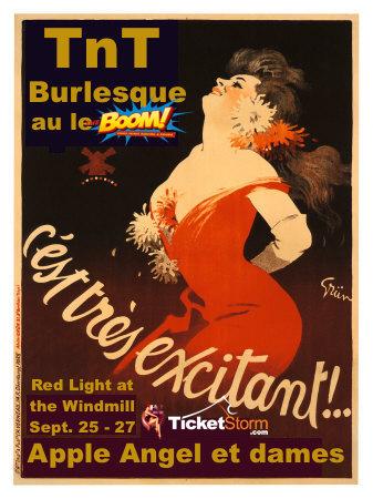 TnT Burlesque Apple Angel ApplenAngel Boom