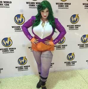 Joker Wizard World Tulsa Cosplay Apple Angel ApplenAngel Oklahoma