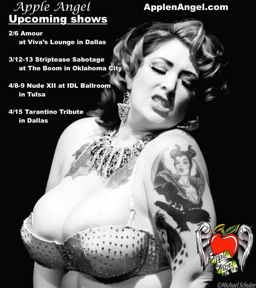 AA Upcoming Shows 2 to 4 2016