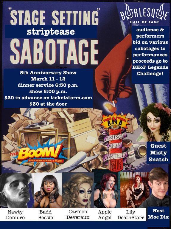 Striptease Sabotage Poster