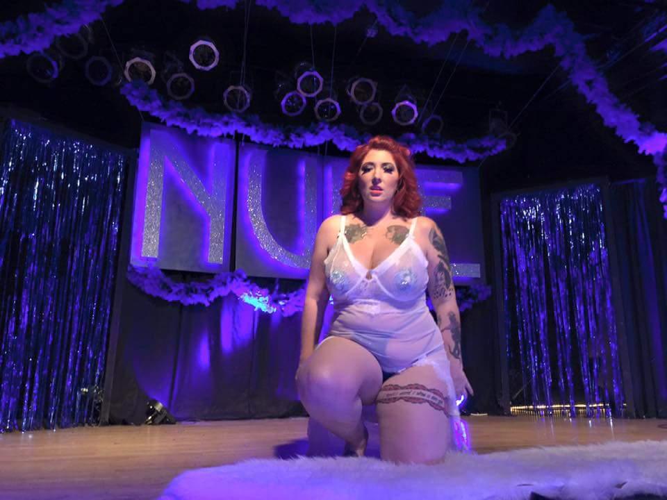 Apple Angel Applenangel Burlesque Oklahoma boobs Nude Art Show 12