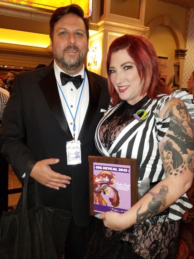 Apple Dustin BHoF Award